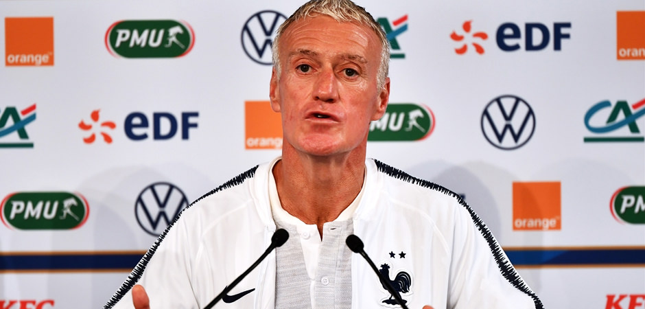 Deschamps'tan itiraf!