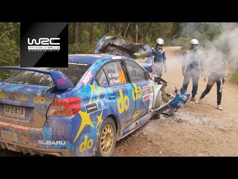 WRC - Rally Australia 2018: TOP 5 Moments